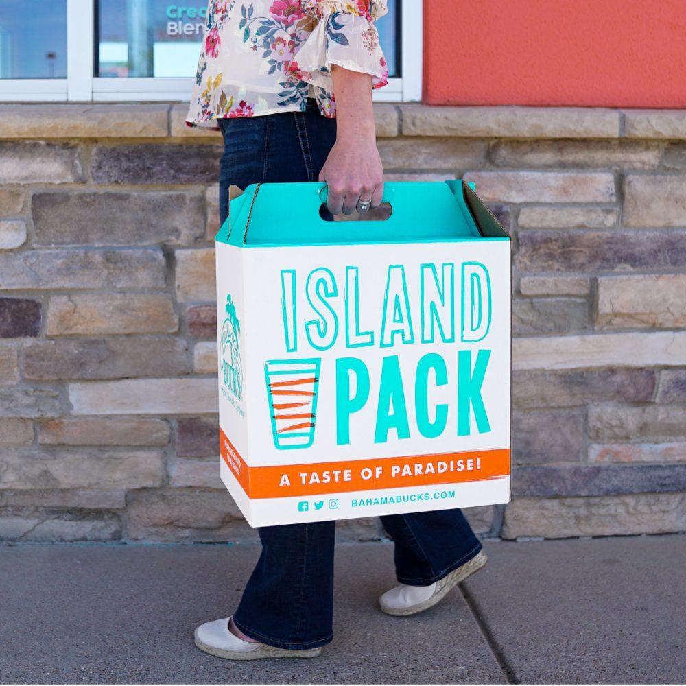 Bahama-Bucks-Island-Pack-Walking